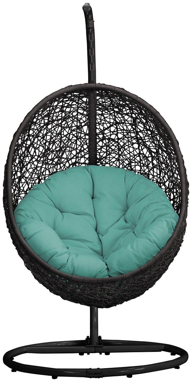 Grate Dark Teal Hanging Chair (0)