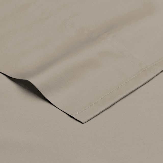 Egyptian Cotton Beige 400 Thread Sheet Set (2)