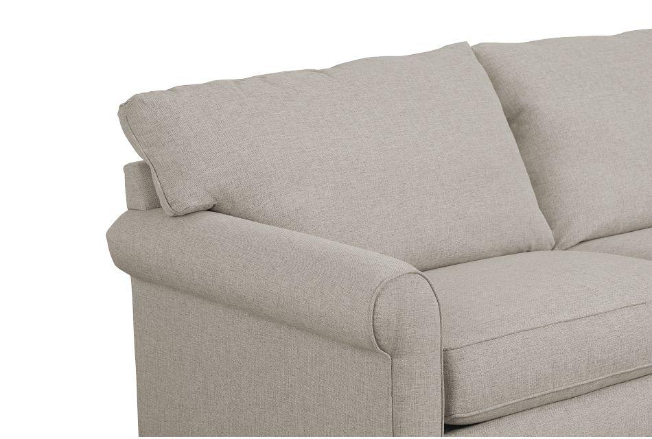 Cameron Beige Fabric Memory Foam Sleeper