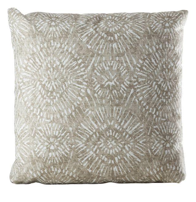 """Borneo Gray 20"""" Indoor/outdoor Accent Pillow (0)"""