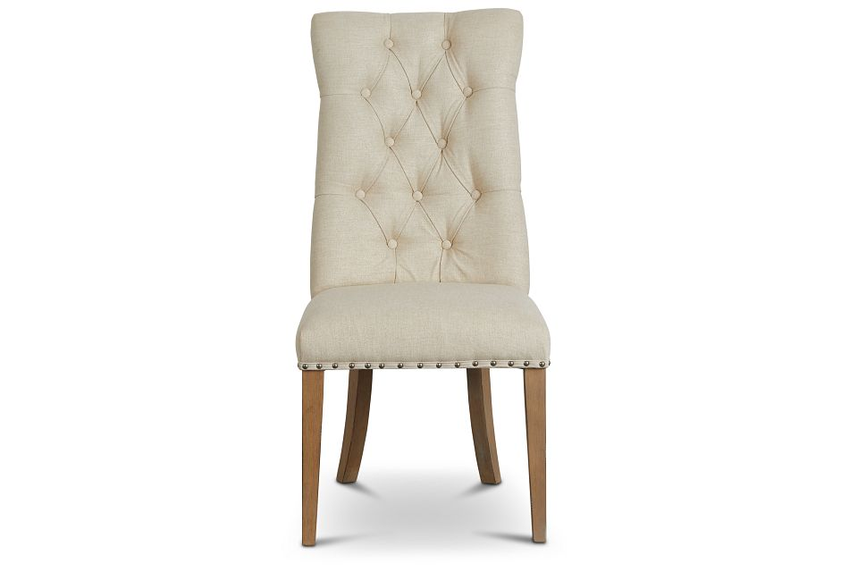 Haddie Light Tone Upholstered Side Chair,  (3)