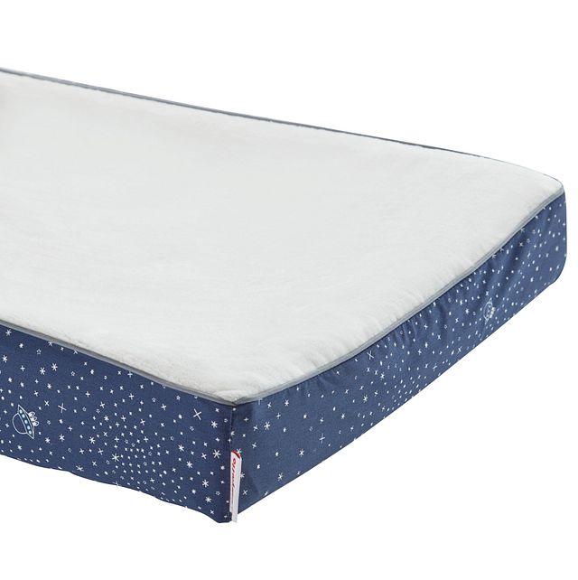 Galaxy Dark Blue 5 Piece Crib Bedding Set (2)