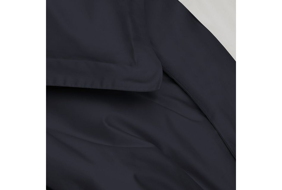 Organic Cotton Dark Blue 300 Thread Duvet Set