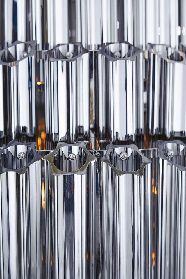Camryn Black Glass Chandelier
