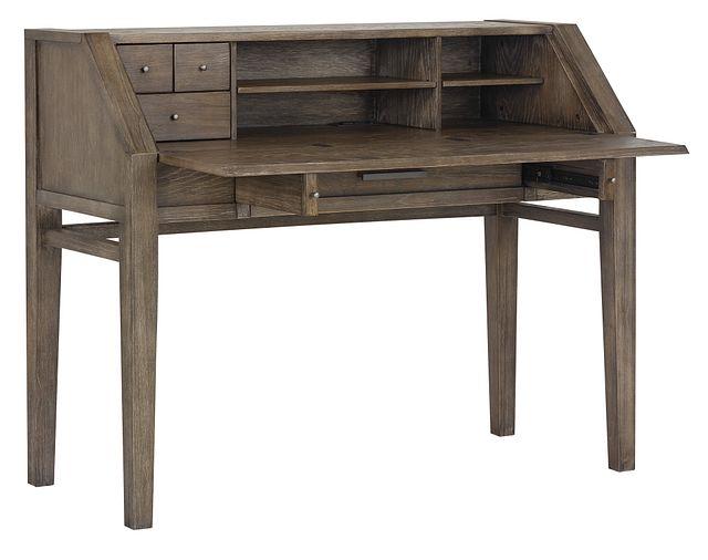 Bravo Dark Tone Writing Desk (3)
