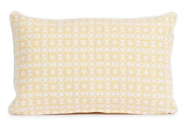 """Valley Yellow 13"""" Indoor/outdoor Rectangular Accent Pillow (0)"""