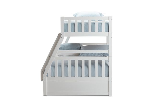 Oakley White Storage Bunk Bed