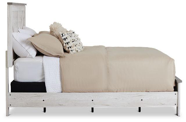 Blueridge Two-tone Panel Bed (2)