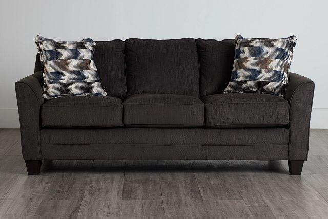 Charlie Dark Gray Fabric Sofa (0)