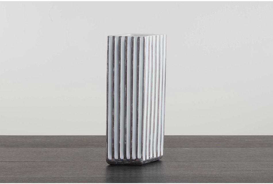 Polly White Vase