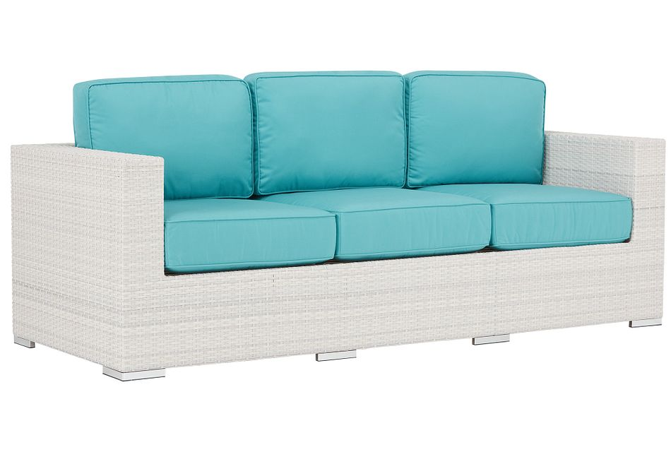 Biscayne Dark Teal Sofa