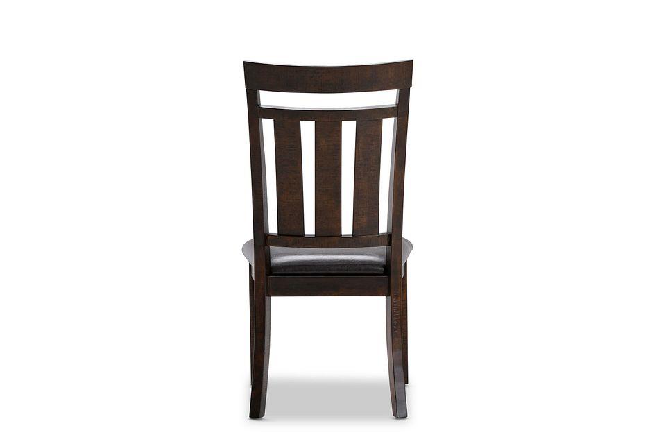 Kona Grove Dark Tone Wood Side Chair