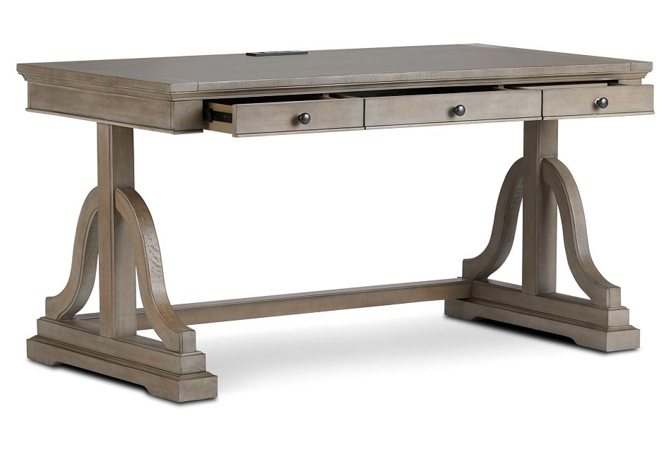 Heron Cove Light Tone Writing Desk