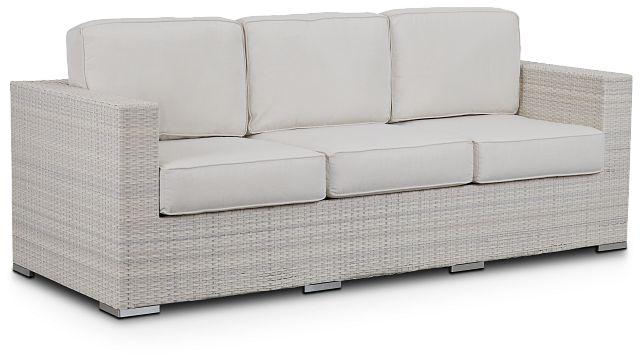 Biscayne White Sofa (1)