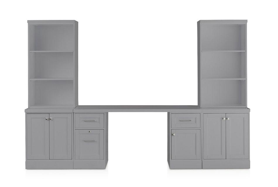 Newport Gray Door Wall Desk
