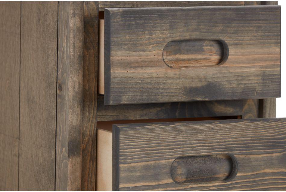 Cinnamon Gray Large Nightstand