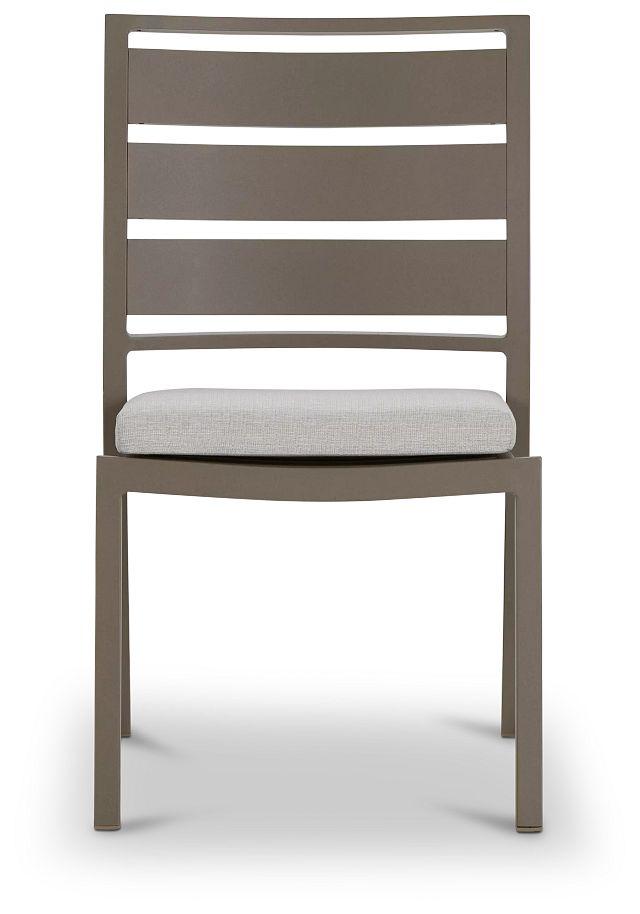 Raleigh Gray Aluminum Side Chair (2)