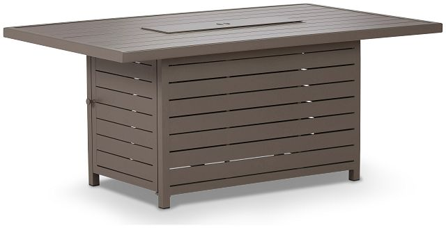 Raleigh Taupe Rect Fire Pit (2)