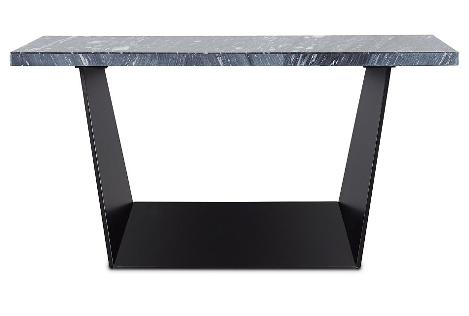Auburn Dark Gray Marble High Dining Table, %%bed_Size%% (1)