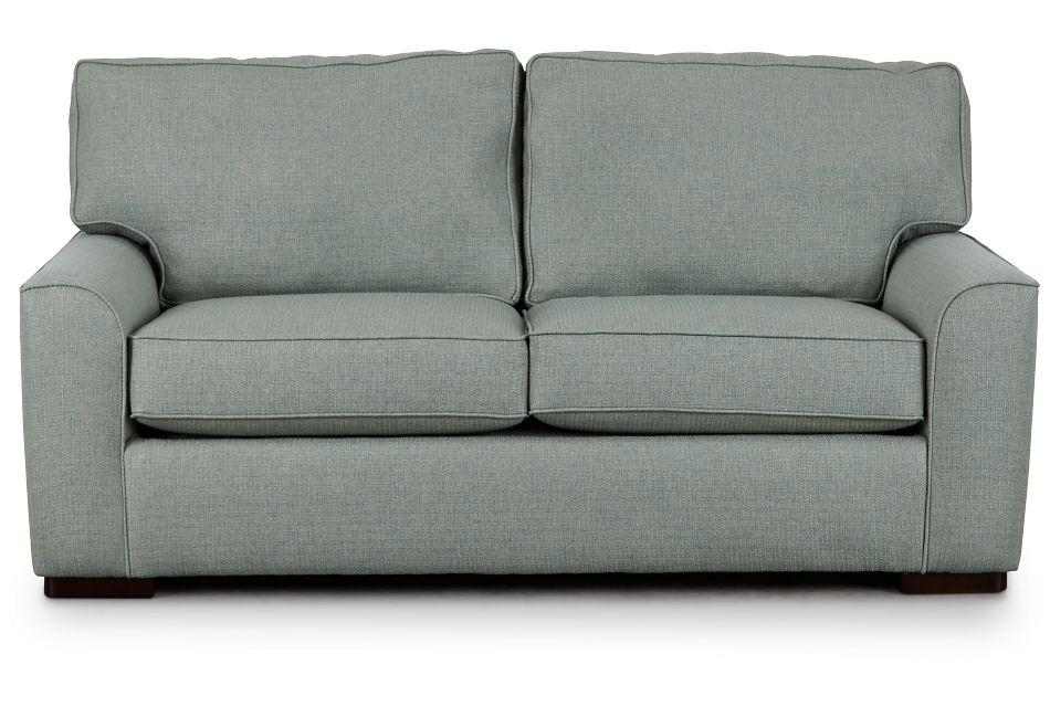 Austin Green Fabric Innerspring Sleeper, Full (1)