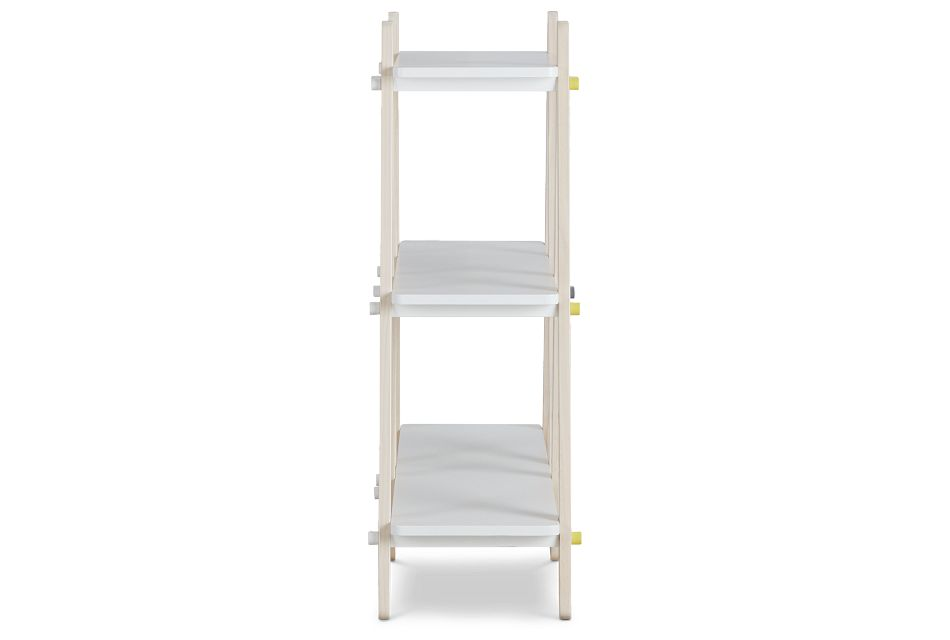 Dottie White Storage Bookcase