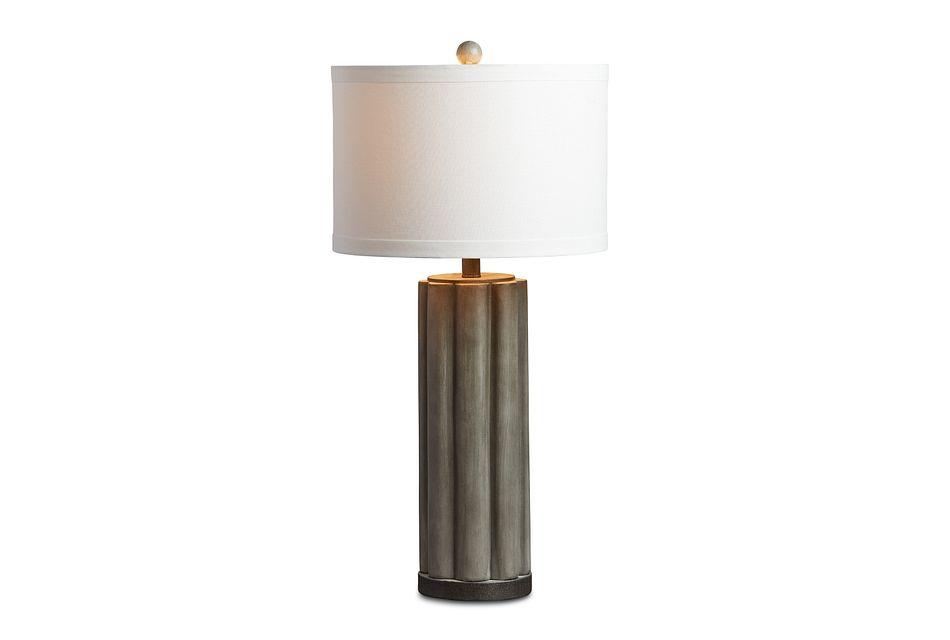 Brighton Gray  Table Lamp,  (3)