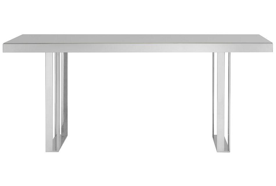 Harley Gray Glass Rectangular Table