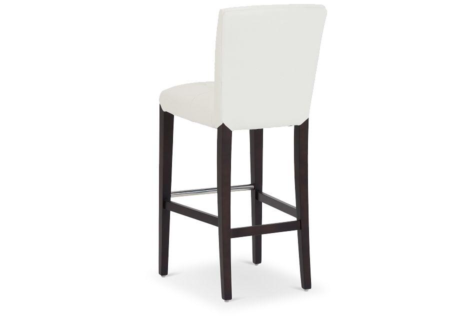 """Shelby Whitemicro 30"""" Upholstered Barstool"""