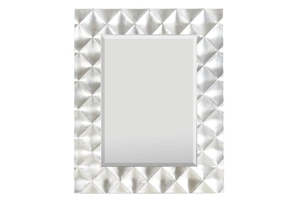 Zowie Silver Floor Mirror