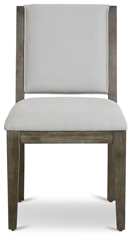 Bravo Dark Tone Upholstered Side Chair (3)