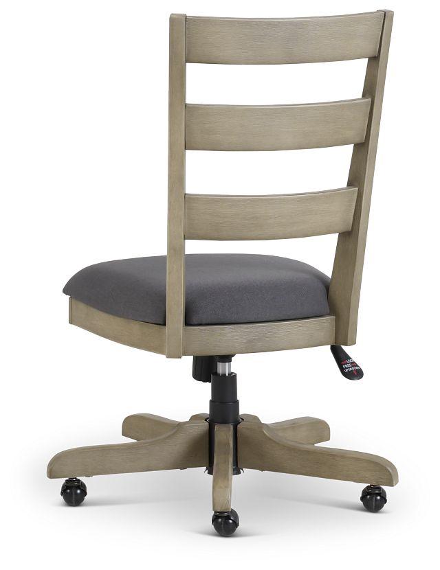 Vista Light Tone Wood Desk Chair
