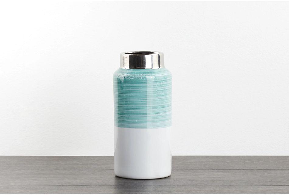 Dacia Small Green Vase