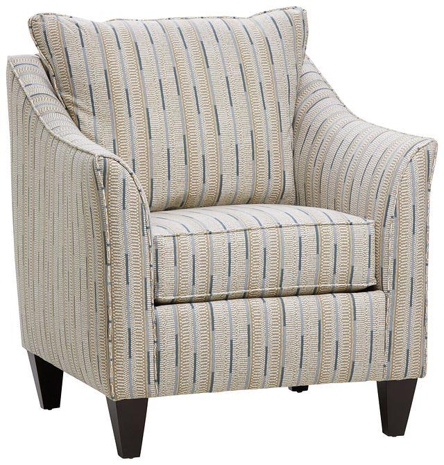 Ashanti Khaki Fabric Accent Chair (0)