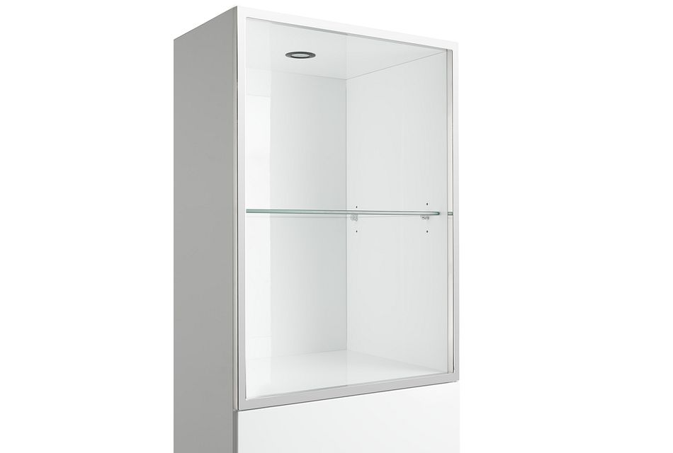 Vancouver White Pier With Glass Shelf