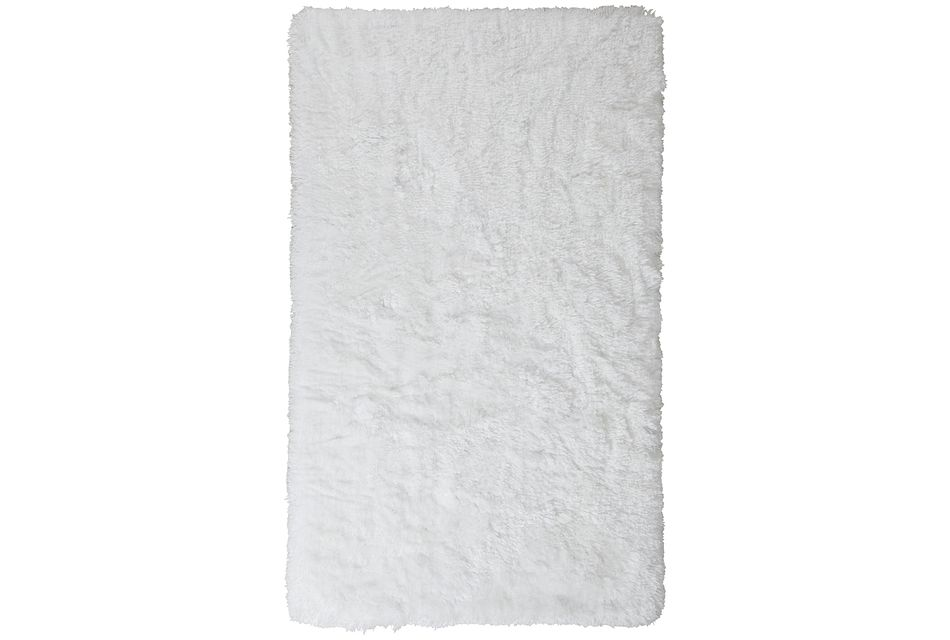 Beckham White 3x5 Area Rug