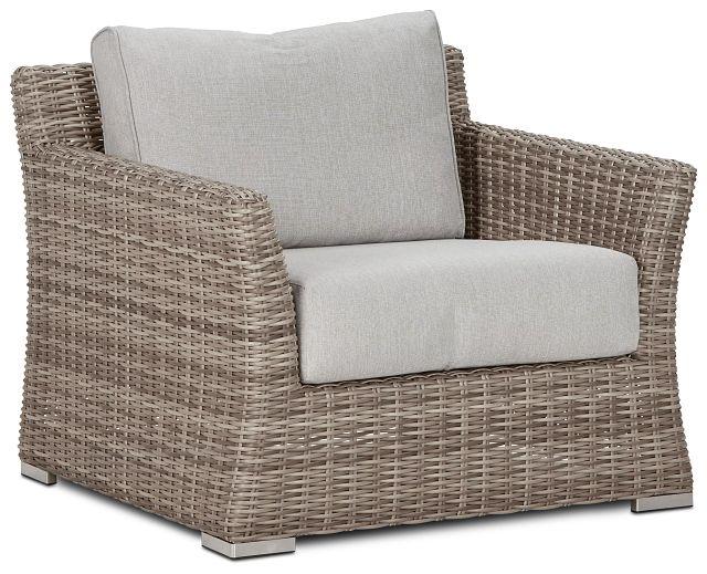 Raleigh Gray Woven Chair (0)