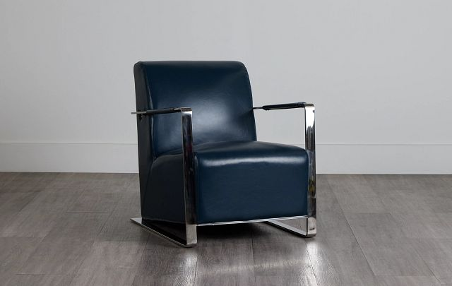 Lee Blue Uph Accent Chair (0)