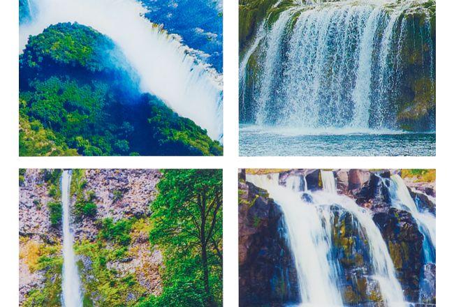 Waterfalls Acrylic Set Of 4 Wall Art