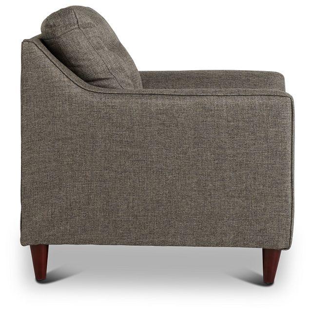Jensen Dark Gray Fabric Chair (2)