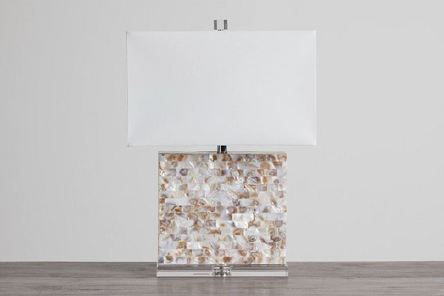 Claire Multicolored Crystal Table Lamp (0)