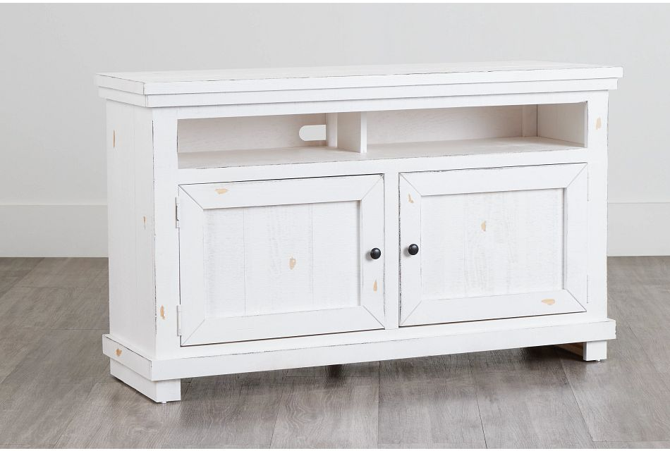 """Willow White 54"""" Tv Stand"""