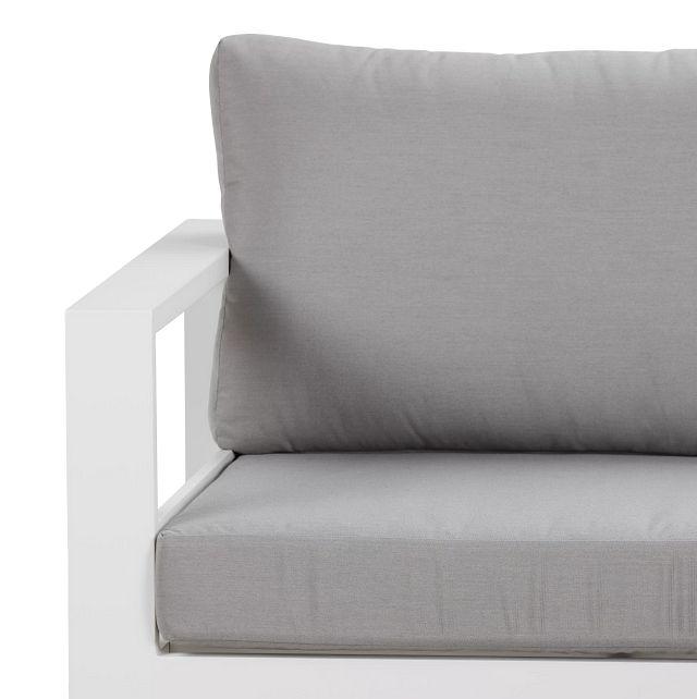 Lisbon Gray Aluminum Small Left Sectional (0)