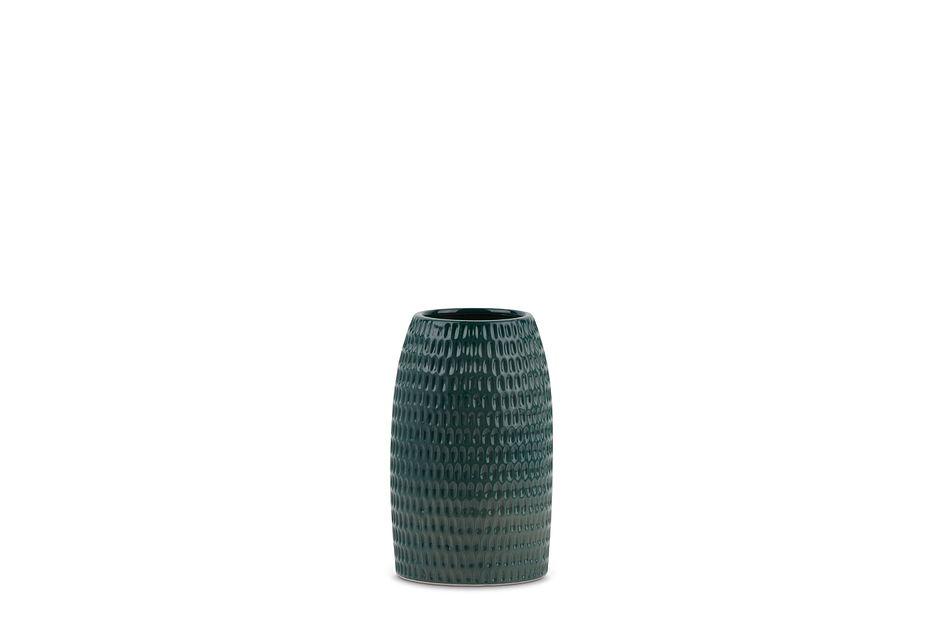 Huxley9 Green  Vase,  (1)