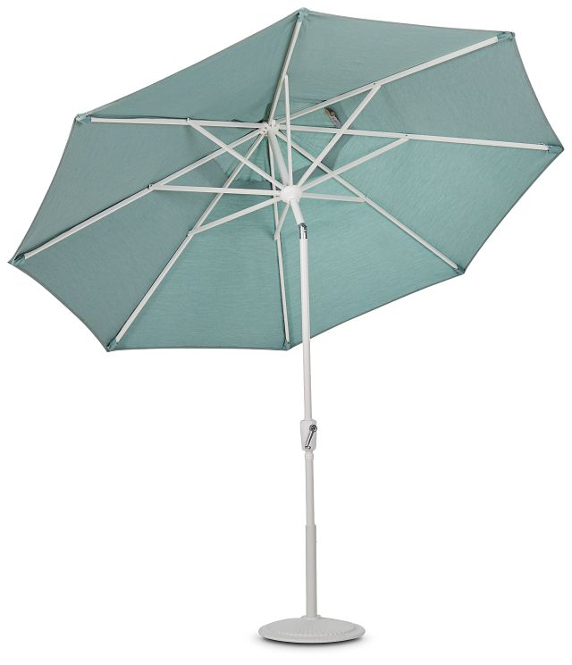 Capri Teal Umbrella Set (2)