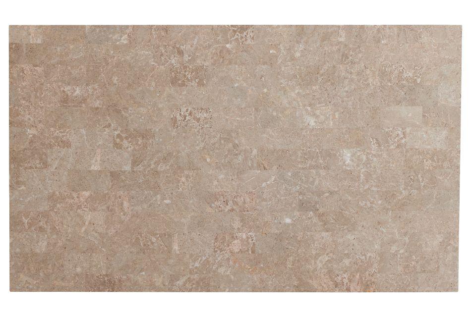 Portia Dark Tone Marble Rectangular Table