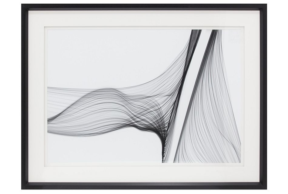 Imani Black Framed Wall Art