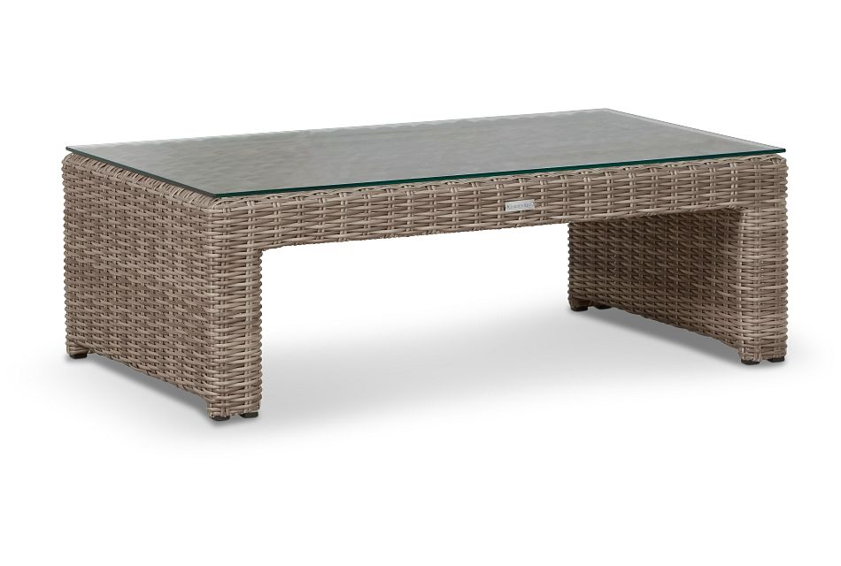 Raleigh Gray Rect Coffee Table