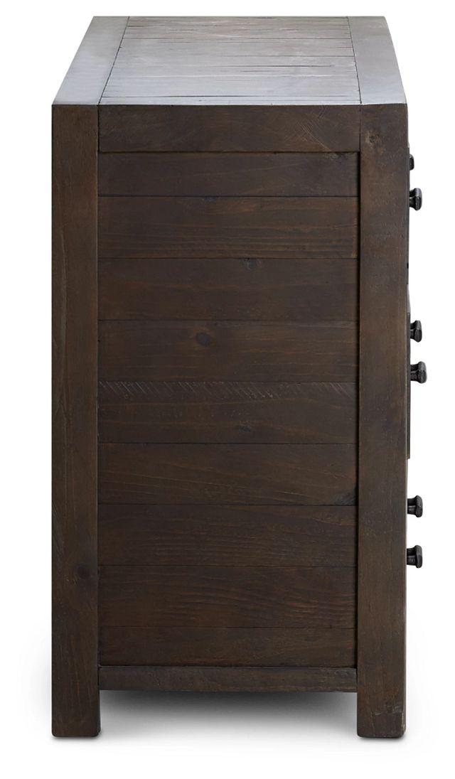 Seattle Dark Tone Wood Dresser (3)