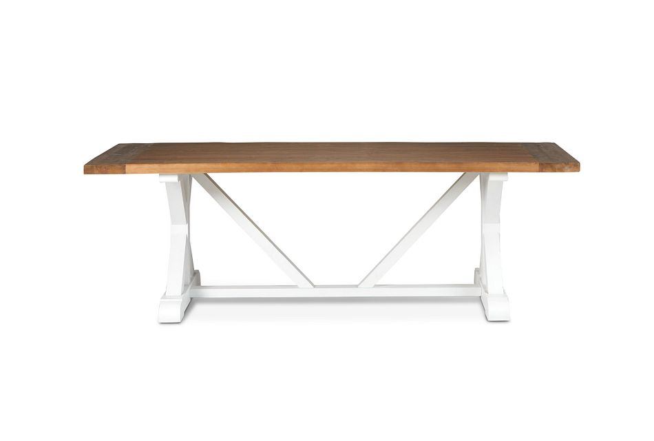 "Hilton Two-tone 96"" Rectangular Table"