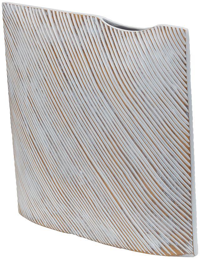Kaz Light Gray Vase (2)